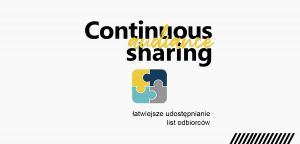 Continuous audience sharing